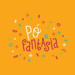 [Pó de Fantasia] Assinaturas com magia_Fundo Laranja
